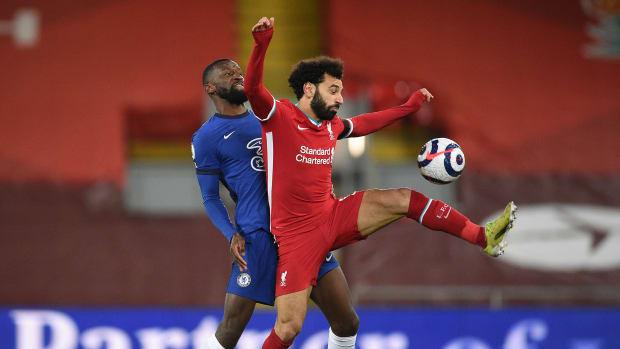 Mohamed Salah Antonio Rudiger