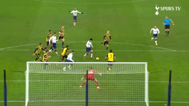 Son Heung-min's goals vs Watford