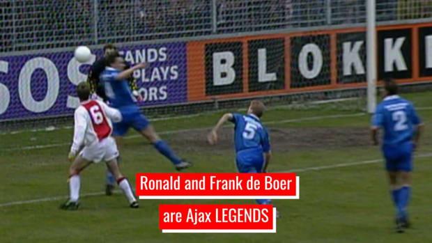 The legendary Ajax career of the De Boer brothers