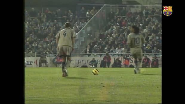 Rafa Marquez's great free-kick goal against Getafe