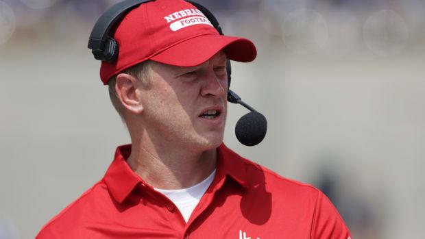 Scott Frost 2021 Nebraska vs Illinois football USATSI_16644897