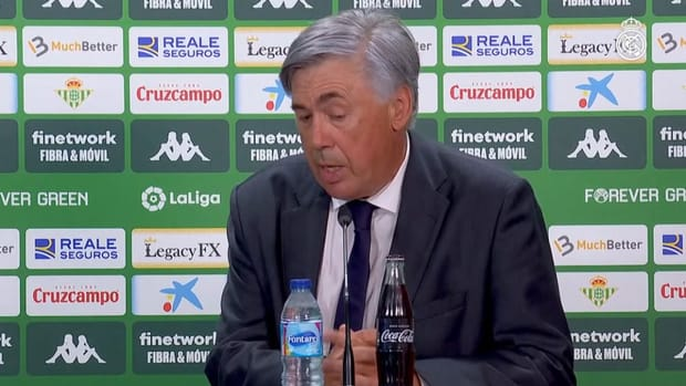 Carlo Ancelotti: 'We did a good job in the second half because we showed more intensity'