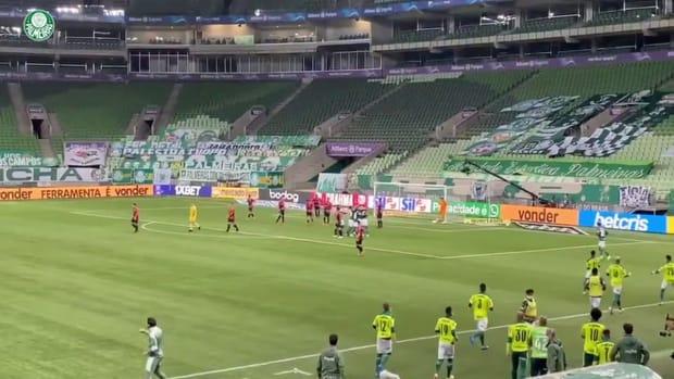Palmeiras beat Athletico in the eighteenth round of 2021 Brasileirão Série A
