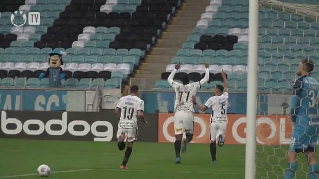 Corinthians beat Grêmio in the eighteenth round of 2021 Brasileirão Série A