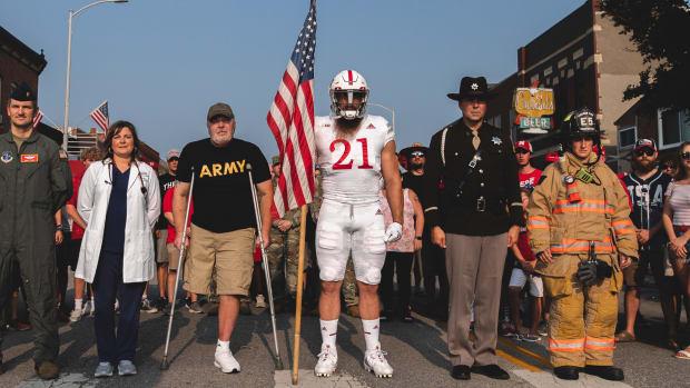 2021 Nebraska Sept. 11 uniforms