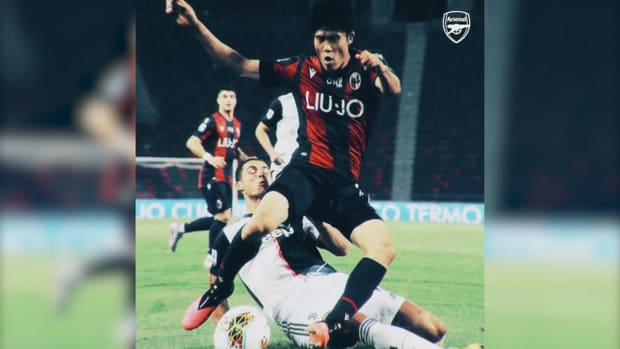 Tomiyasu joins Arsenal from Bologna