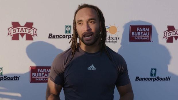 Aaron Brule talks LA Tech matchup (credit: Mississippi State Athletics)