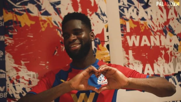 Odsonne Edouard first moment at Crystal Palace
