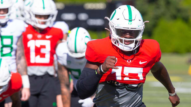 Anthony Brown Fall Camp Warmup