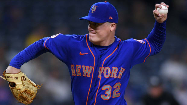 """How Aaron Loup became """"most valuable reliever"""" in the Mets' bullpen this season."""