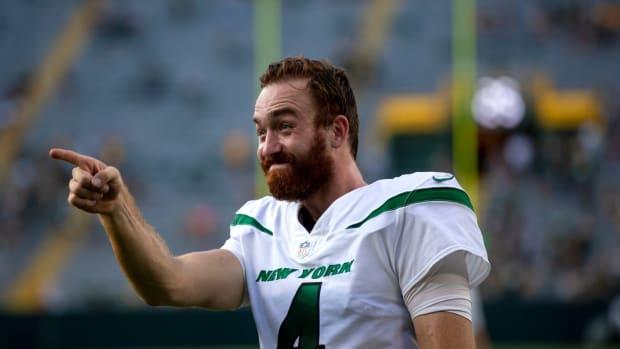 Former New York Jets QB James Morgan
