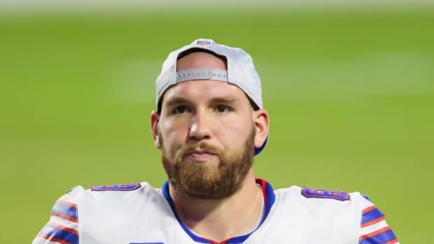 Bills long snapper Reid Ferguson.