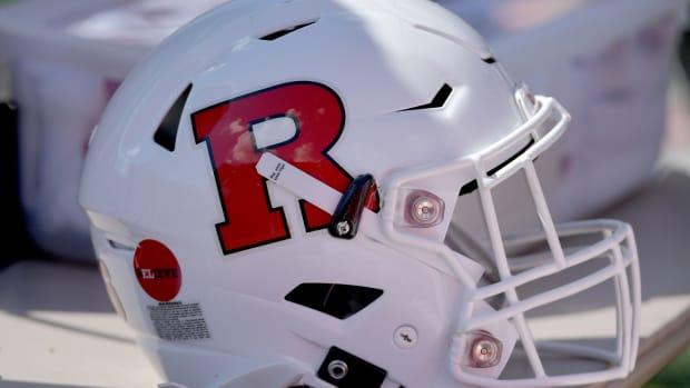 Rutgers Football Helmet