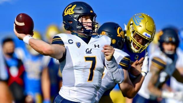 Cal quarterback Chase Garbers