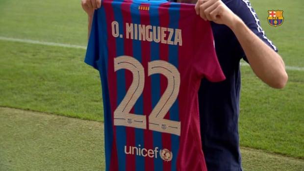 Mingueza on another 'dream come true'