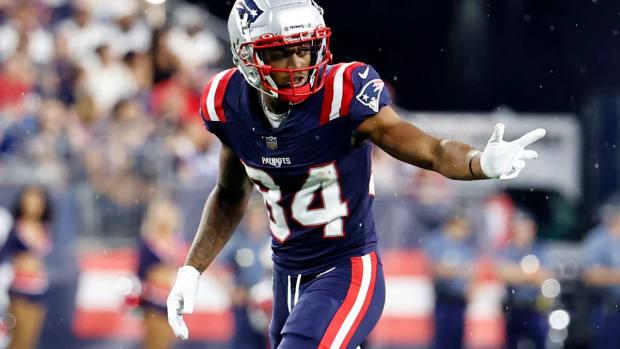 Patriots WR Kendrick Bourne