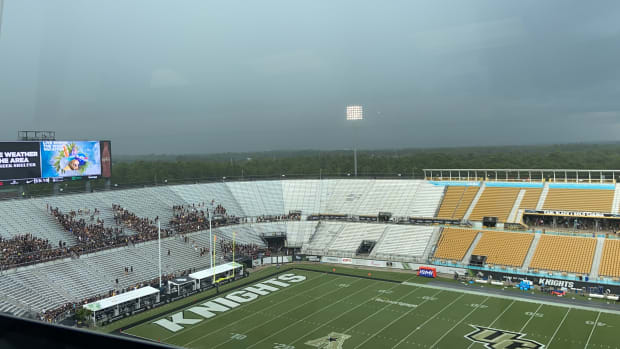 Weather delay - Boise State at UCF