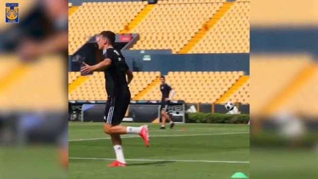 Thauvin shows his quality in Tigres training