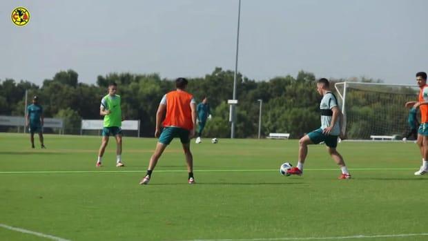 Club América train in Dallas ahead of friendly vs Chivas