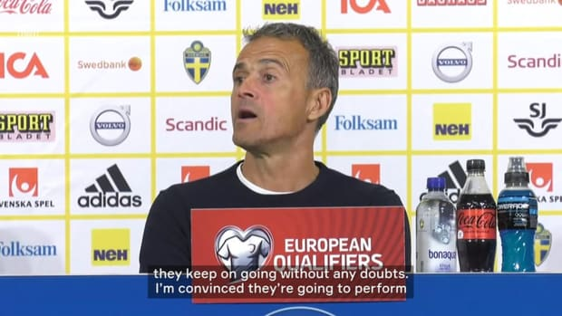Luis Enrique: 'Players showed me in the Euro they're prepared to overcome adversity'