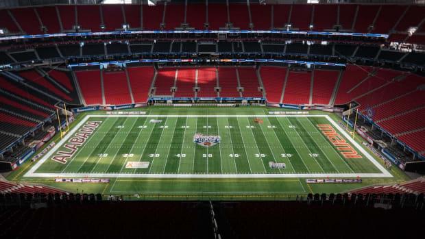 Alabama vs. Miami field