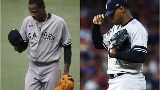 Yankees SP Domingo German, Luis Severino