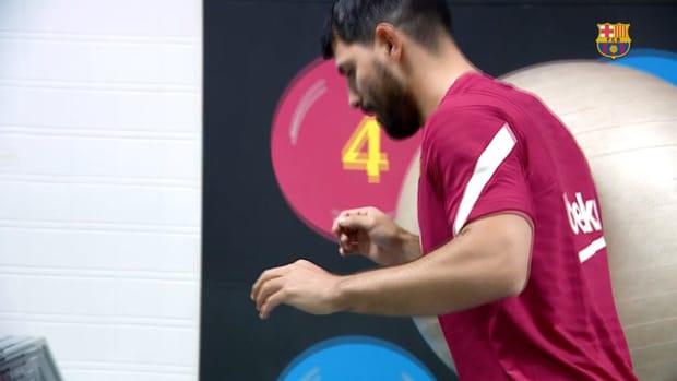 Sergio Agüero continues recovery