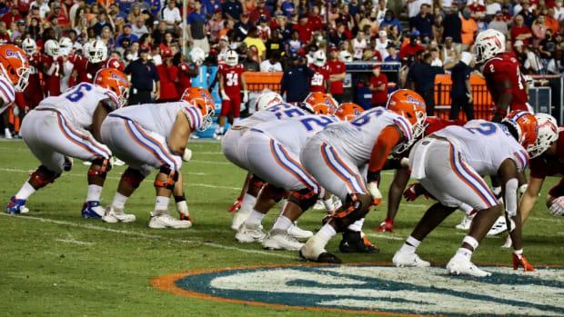 Gators offensive line 2021