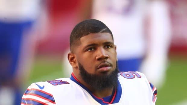 Buffalo Bills defensive tackle Ed Oliver.