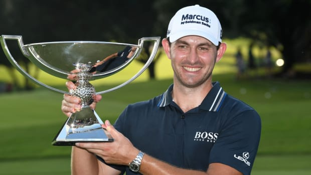 FedEx Cup playoff winner Patrick Cantlay