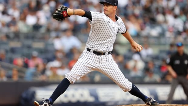Yankees pitcher Andrew Heaney