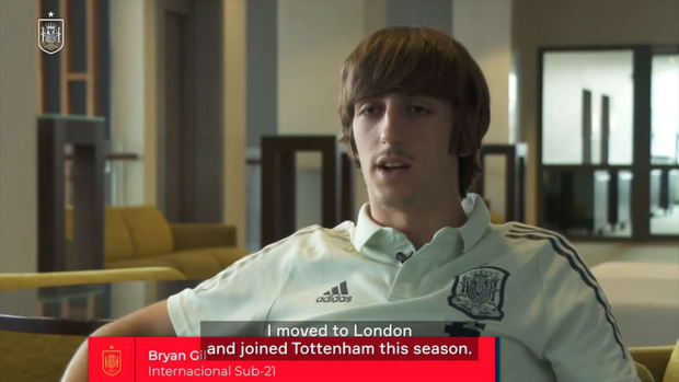 Bryan Gil: 'Joining Tottenham is a big step forward for me'