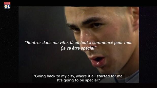 Karim Benzema's comeback at Lyon