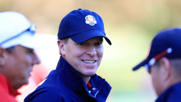Steve Stricker at the 2012 Ryder Cup.