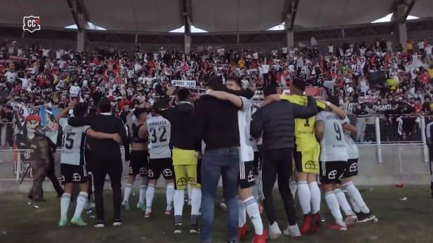 Behind the scenes: Colo-Colo's 2021 Copa Chile celebrations