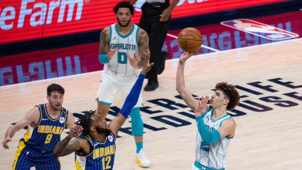 LaMelo Ball, Charlotte Hornets, Indiana Pacers