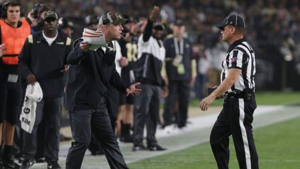 Jeff Brohm Referee