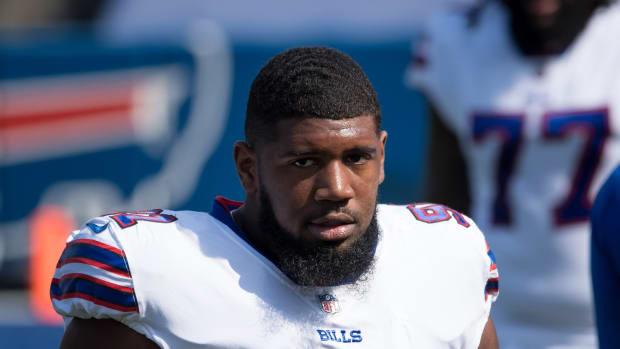 Bills defensive tackle Ed Oliver.
