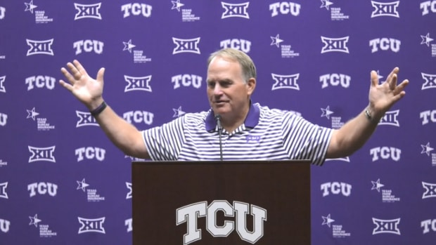 Gary Patterson press conference