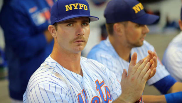 The Mets will sport FDNY, NYPD hats for their 20th anniversary 9/11 Subway series game on Saturday against the Yankees.