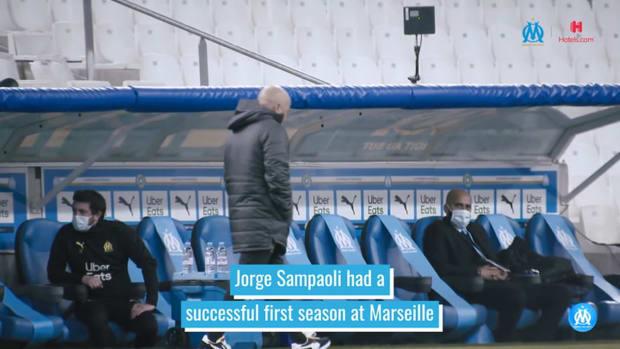 Jorge Sampaoli's first season at OM
