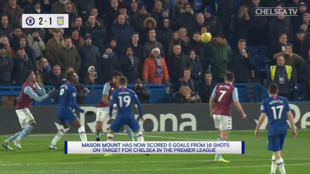 Mason Mount's thumping strike vs Aston Villa