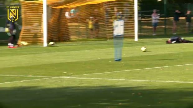 FC Nantes' training before Nice