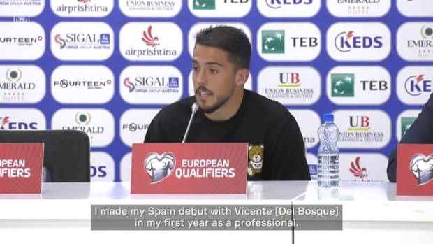 Pablo Fornals on his goalscoring return to the national team