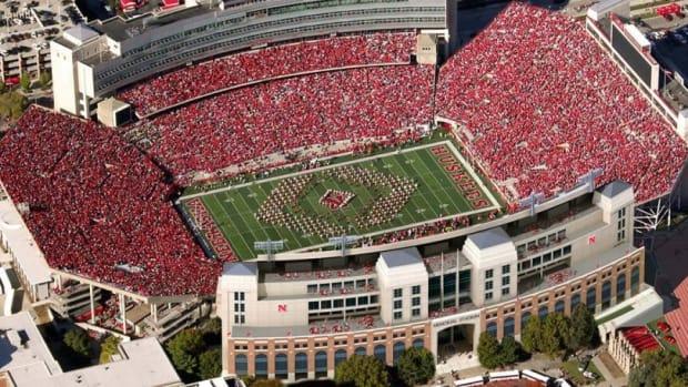 Memorial Stadium aerial