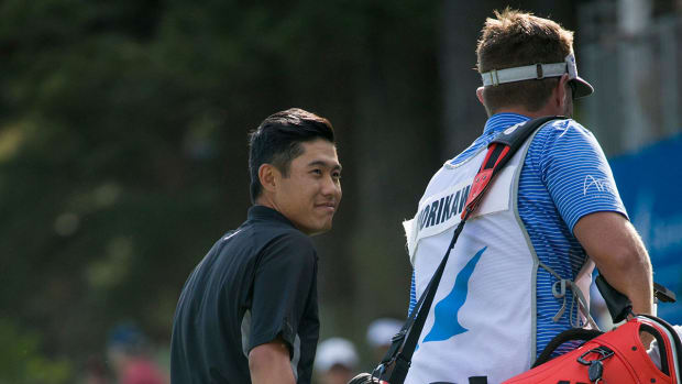 Collin Morikawa is a member of the 2021 American Ryder Cup team.