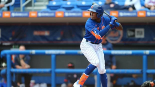 Mets top prospect Ronny Mauricio was promoted to Double-A Binghamton.