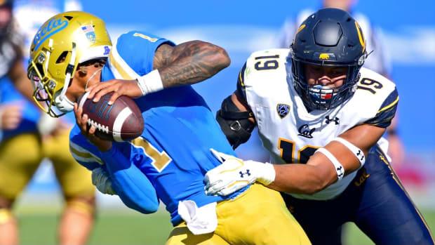 Cal linebacker Cameron Goode