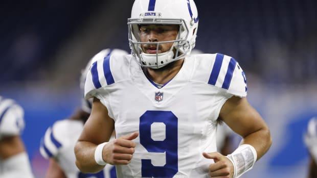 Jacob Eason will begin the season as the Colts backup QB.