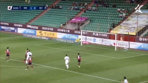 Cesinha's screamer rallies Daegu to victory over Pohang